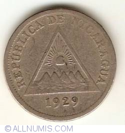 Image #2 of 5 Centavos 1929