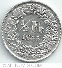 Image #1 of 1/2 Franc 1946