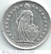 Image #2 of 1/2 Franc 1946