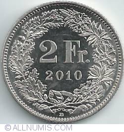 2 Francs 2010