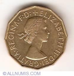 3 Pence 1955