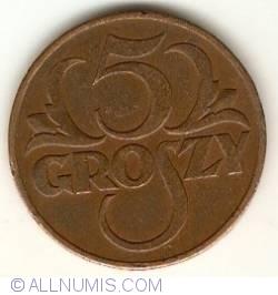 Imaginea #1 a 5 Groszy 1938