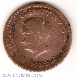 Image #1 of 5 Centavos 1952