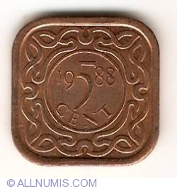 Image #1 of 5 Cents 1988