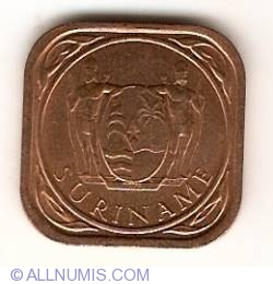 Image #2 of 5 Cents 1988