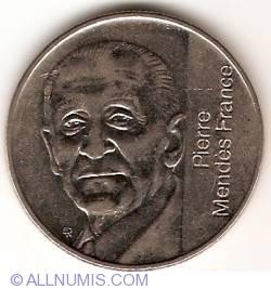 Image #2 of 5 Francs 1992 - Pierre Mendès France