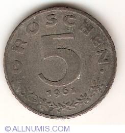 Image #1 of 5 Groschen 1961