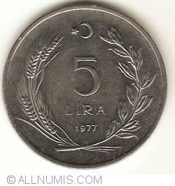 Image #1 of 5 Lira 1977