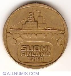 5 Markkaa 1988