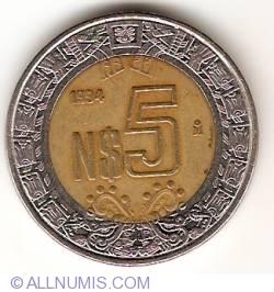 Image #1 of 5 Nuevo Pesos 1994
