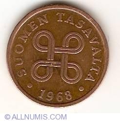 5 Pennia 1968