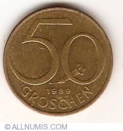 Image #1 of 50 Groschen 1989