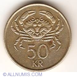 Image #1 of 50 Kronur 1992