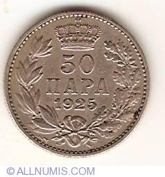 Imaginea #1 a 50 Para 1925 P