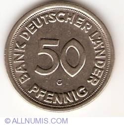 Imaginea #1 a 50 Pfennig 1949 G
