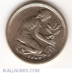 Imaginea #2 a 50 Pfennig 1949 G