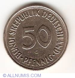 Image #1 of 50 Pfennig 1969 G