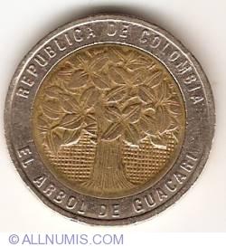 Image #2 of 500 Pesos 1994