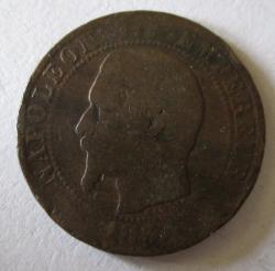 5 Centimes 1854 BB
