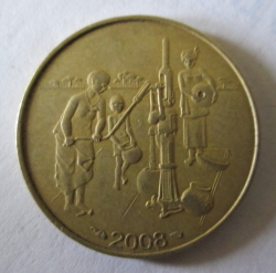 10 Franci 2008