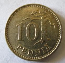 10 Pennia 1979