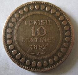 10 Centimes 1892 (AH1309)