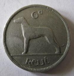 6 Pence 1953