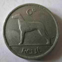 6 Pence 1960