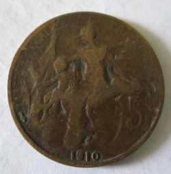 5 Centimes 1910