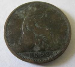 Penny 1863