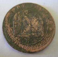5 Centimes 1856 B