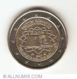 Image #2 of 2 Euro 2007 50th anniversary of the Treaty of Rome