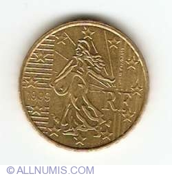 Image #2 of 10 Euro Cent 1999
