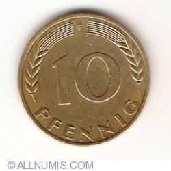 Image #1 of 10 Pfennig 1969 F