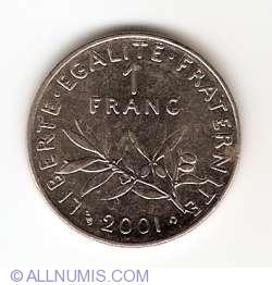 Image #1 of 1 Franc 2001