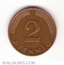 Image #1 of 2 Pfennig 1992 D