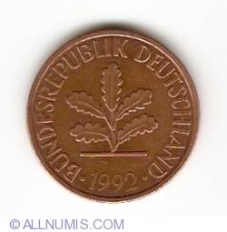 Image #2 of 2 Pfennig 1992 D