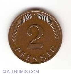 Image #1 of 2 Pfennig 1963 D