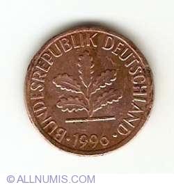1 Pfennig 1996 F
