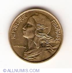 Image #2 of 5 Centimes 1970
