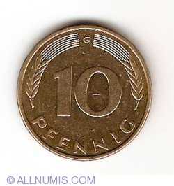 Image #1 of 10 Pfennig 1994 G