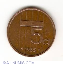 Image #1 of 5 Cents 1985