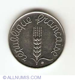 Image #2 of 5 Centimes 1961