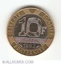 Image #1 of 10 Francs 1992