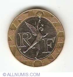 Image #2 of 10 Francs 1992