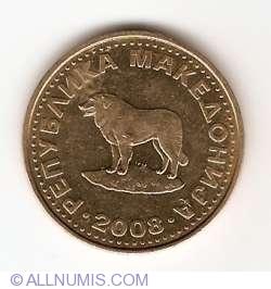 Image #2 of 1 Denar 2008