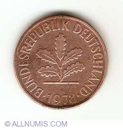 Image #2 of 2 Pfennig 1978 D