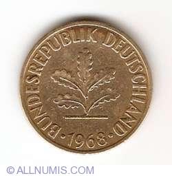 Image #2 of 10 Pfennig 1968 D