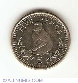 Imaginea #1 a 5 Pence 2001
