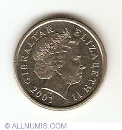 Imaginea #2 a 5 Pence 2001
